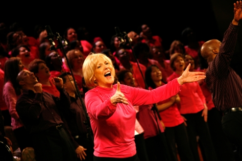 Carol Cymbala leads the Brooklyn Tabernacle Choir