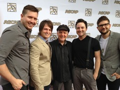 The Christian music band Finding Favour with guitar legend Phil Keaggy