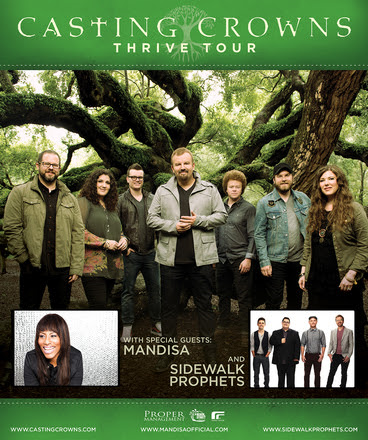 Casting Crowns tour poster