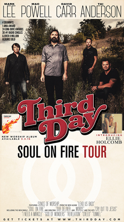 Third Day touring in 2015