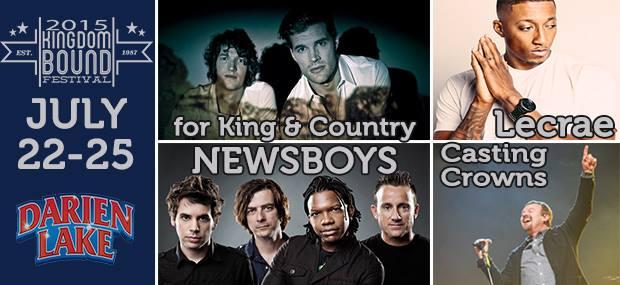 Kingdom Bound Music Festival 2015