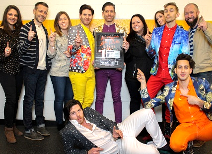 """Family Force 5 hits number one with """"Let It Be Love"""""""